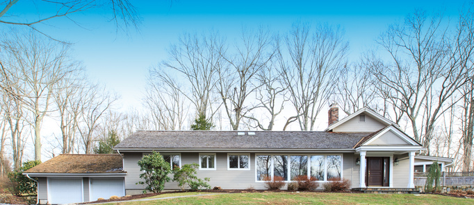 3/26 Open House 1-3 pm at 36 Chalburn Rd, Redding CT 06896 Updated 4 Bedroom Mid-Century Modern