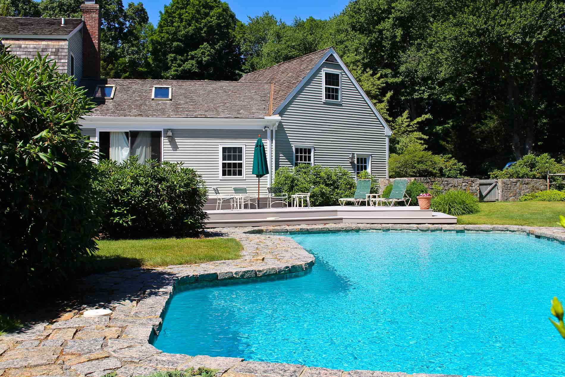 Homes with swimming pool for sale in easton ct find and for Houses for sale pool