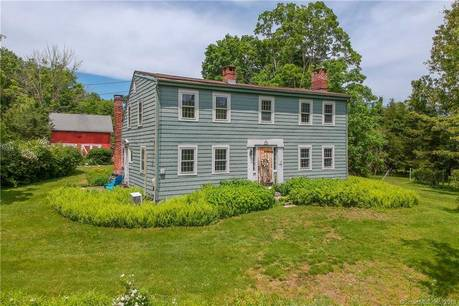 Single Family Home Sold in Newtown CT 06482. Old antique saltbox house near beach side waterfront.