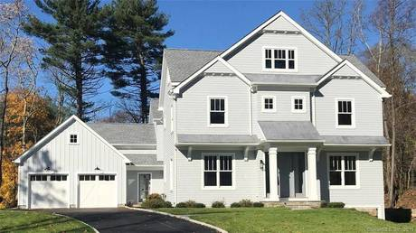Luxury Single Family Home Sold in Westport CT 06880. Contemporary farm house near beach side waterfront with 2 car garage.