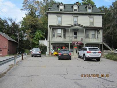 Multi Family Home For Sale in Brookfield CT 06804. Old  house near river side waterfront.