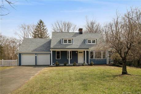 Single Family Home Sold in Newtown CT 06470.  cape cod house near waterfront with 2 car garage.