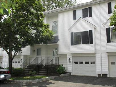 Condo Home Sold in Danbury CT 06810.  townhouse near waterfront with 1 car garage.