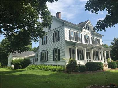 Single Family Home Sold in Redding CT 06896. Old victorian, antique house near waterfront with 2 car garage.