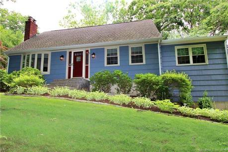 Single Family Home Sold in Shelton CT 06484.  cape cod house near river side waterfront with 2 car garage.