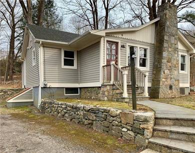 Single Family Home Sold in Redding CT 06896.  bungalow, cottage house near waterfront.