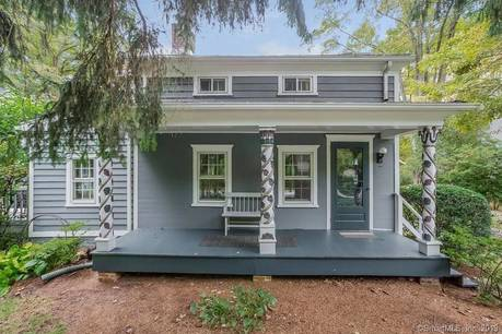 Single Family Home Sold in Stamford CT 06903. Old colonial, antique house near river side waterfront with 1 car garage.