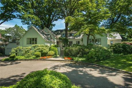 Luxury Single Family Home Sold in Darien CT 06820. Old  cape cod house near waterfront with 3 car garage.