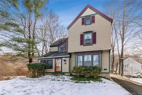 Single Family Home Sold in Danbury CT 06810. Old victorian, colonial house near waterfront with 2 car garage.