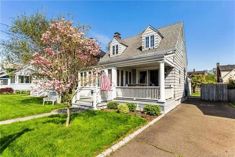 Single Family Home Sold in Norwalk CT 06855. Old  cape cod house near beach side waterfront.