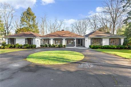 Single Family Home Sold in Westport CT 06880. Ranch house near beach side waterfront with 2 car garage.