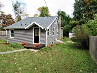 Single Family Home Sold in Newtown CT 06482. Old ranch house near beach side waterfront.