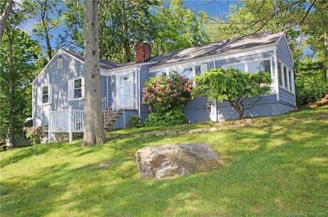 Single Family Home Sold in Westport CT 06880. Ranch house near beach side waterfront with 1 car garage.