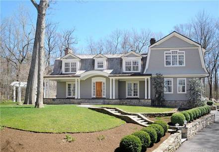 Luxury Single Family Home Sold in Greenwich CT 06830. Colonial house near waterfront with 2 car garage.