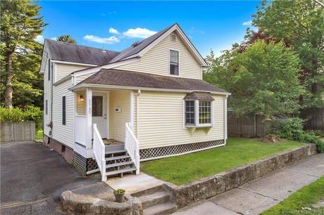 Single Family Home Sold in Stratford CT 06614. Old  cape cod house near waterfront.