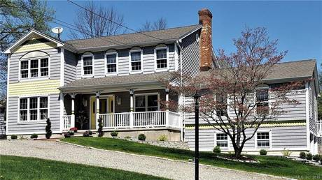 Single Family Home Sold in Shelton CT 06484. Victorian, colonial house near waterfront with swimming pool and 2 car garage.