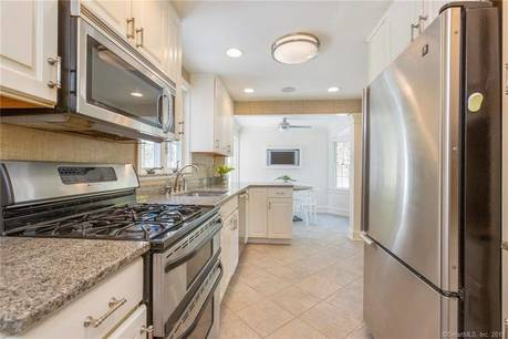 Single Family Home Sold in Fairfield CT 06824. Colonial cape cod house near waterfront.