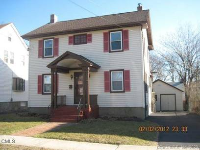 Multi Family Home Sold in Stratford CT 06615. Old  house near waterfront with 1 car garage.