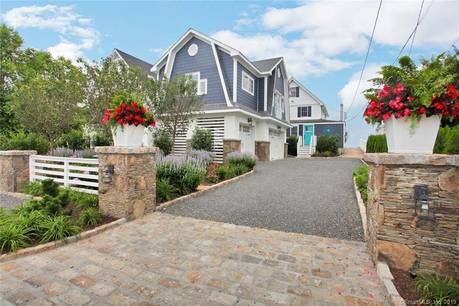 Single Family Home For Rent in Fairfield CT 06824. Old  cape cod house near beach side waterfront with 3 car garage.