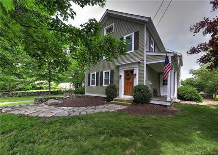 Single Family Home Sold in Shelton CT 06484. Old colonial, antique house near waterfront with swimming pool and 3 car garage.