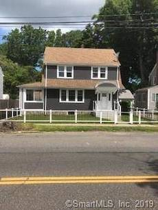Single Family Home Sold in Bridgeport CT 06606. Old colonial house near waterfront with 2 car garage.