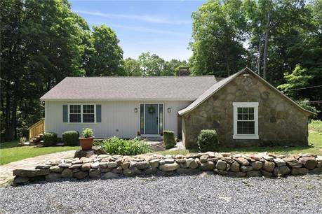 Single Family Home Sold in Redding CT 06896. Old ranch house near waterfront.