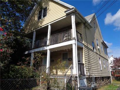 Multi Family Home For Sale in Stamford CT 06902. Old  house near waterfront.