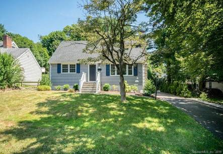 Single Family Home Sold in Norwalk CT 06850.  cape cod house near waterfront.