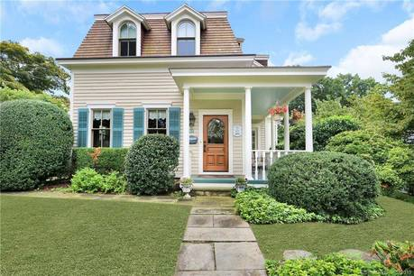 Single Family Home Sold in Norwalk CT 06853. Old victorian, antique house near beach side waterfront with 2 car garage.