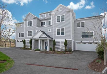 Condo Home Sold in Fairfield CT 06824.  townhouse near waterfront with 2 car garage.