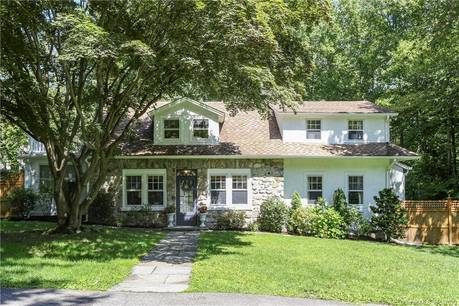 Single Family Home Sold in Darien CT 06820. Old  cape cod house near waterfront with 2 car garage.