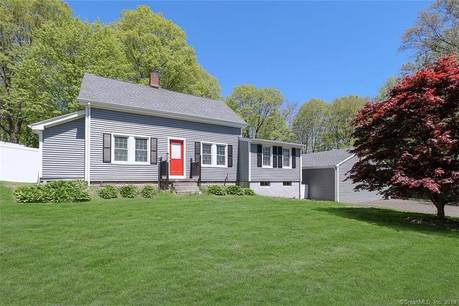 Single Family Home Sold in Monroe CT 06468. Old  cape cod house near waterfront with 2 car garage.