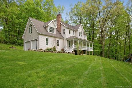 Single Family Home Sold in Sherman CT 06784. Colonial house near beach side waterfront with 2 car garage.