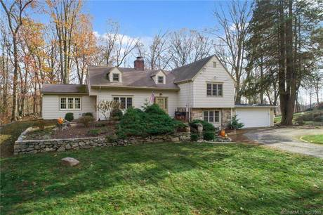 Single Family Home Sold in Weston CT 06883. Old  cape cod, farm house near beach side waterfront with swimming pool and 2 car garage.