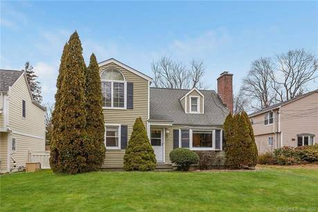 Single Family Home For Rent in Greenwich CT 06870.  cape cod house near waterfront with 2 car garage.