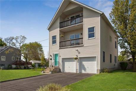 Single Family Home Sold in Norwalk CT 06854. Contemporary, colonial house near beach side waterfront with 2 car garage.