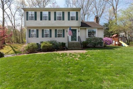 Single Family Home Sold in Newtown CT 06482. Colonial house near beach side waterfront with 2 car garage.