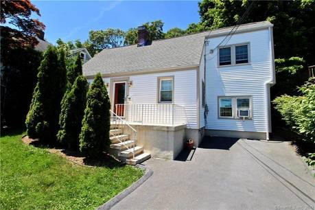 Single Family Home Sold in Stamford CT 06907.  cape cod house near waterfront.