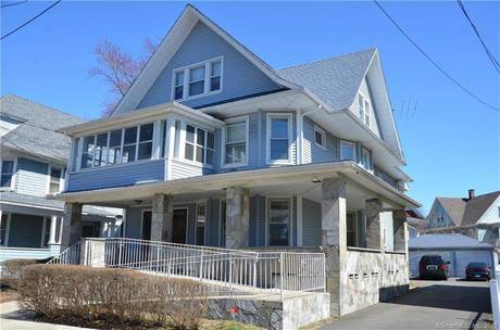 Multi Family Home Sold in Bridgeport CT 06608. Old  house near waterfront with 3 car garage.