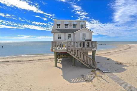 Single Family Home Sold in Stratford CT 06615. Old  cottage house near beach side waterfront.