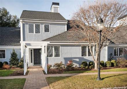 Condo Home Sold in Westport CT 06880.  townhouse near beach side waterfront with swimming pool and 1 car garage.