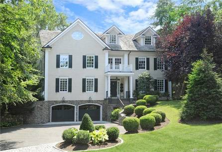 Luxury Single Family Home Sold in Greenwich CT 06878. Colonial house near waterfront with 4 car garage.