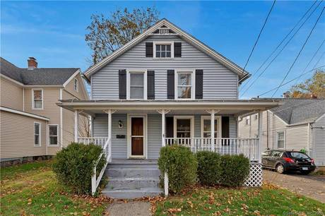 Single Family Home Sold in Bridgeport CT 06604. Old  cape cod house near waterfront with 2 car garage.