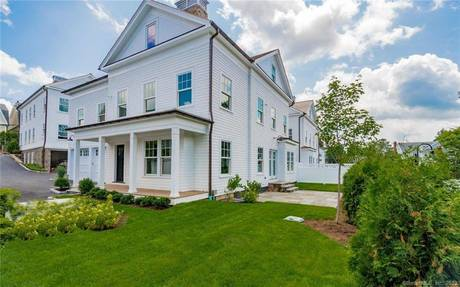 Single Family Home Sold in New Canaan CT 06840. Colonial farm house near waterfront with 2 car garage.