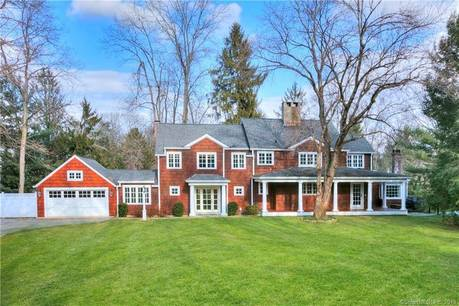 Single Family Home Sold in Westport CT 06880. Colonial farm house near waterfront with swimming pool and 2 car garage.