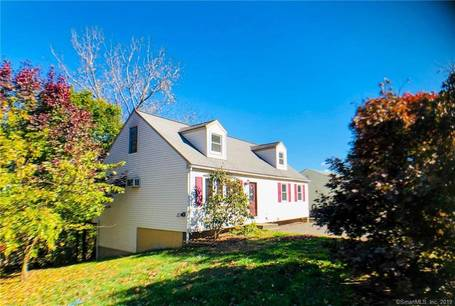Single Family Home Sold in Danbury CT 06810.  cape cod house near waterfront.