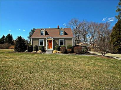 Single Family Home Sold in Shelton CT 06484.  cape cod house near waterfront with 1 car garage.