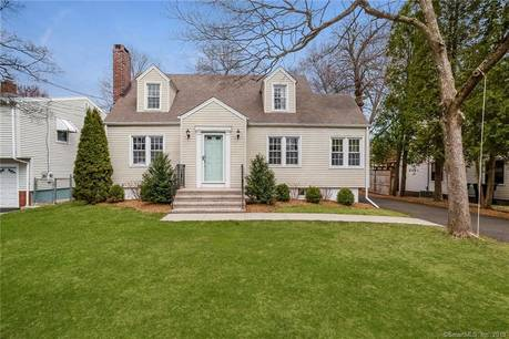 Single Family Home Sold in Fairfield CT 06824. Colonial cape cod house near waterfront with 2 car garage.