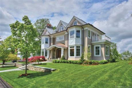 Luxury Mansion For Sale in New Canaan CT 06840. Big colonial house near waterfront with 2 car garage.