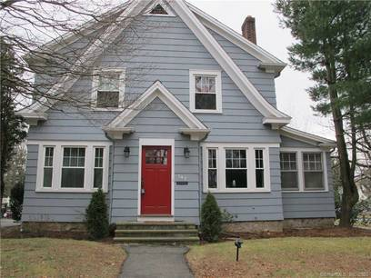 Single Family Home Sold in Stamford CT 06905. Old colonial house near waterfront with 2 car garage.